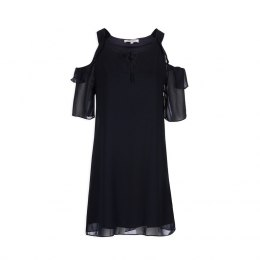 Morgan dress ROMAIN.F NAVY