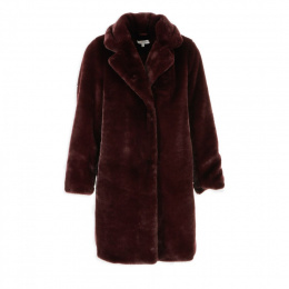 Morgan coat GWINA.P LIE DE VIN