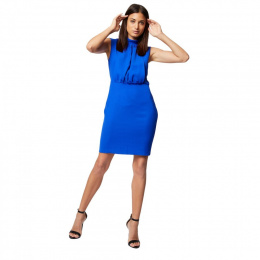 Morgan dress RBLUE.P ULTRA BLEU
