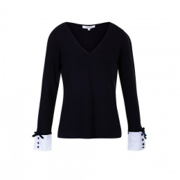 Morgan sweater MUSH.N MARINE