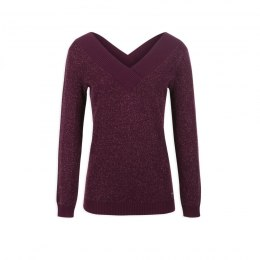 Morgan sweater MARINA.N AUBERGINE