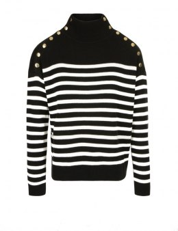 Morgan sweater MFABI.W NOIR/ECRU