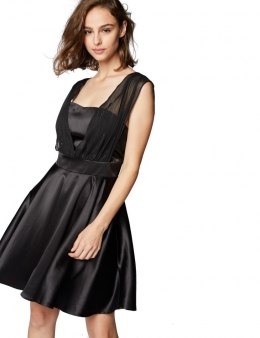 Morgan dress RIMSI.P NOIR