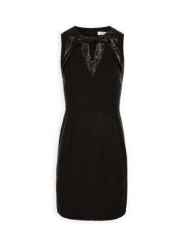 Morgan dress RNEW.P NOIR