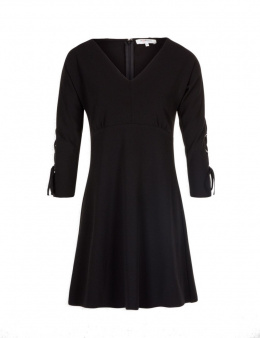 Morgan dress RUBIS.F NOIR