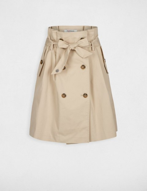 Morgan Skirt JBEIGE.N BEIGE