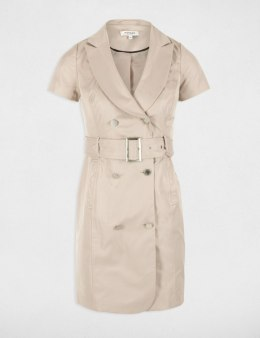 Morgan Dress RIVA.N BEIGE