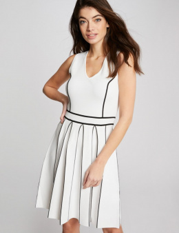 Morgan Dress RMOCTO.N OFF WHITE