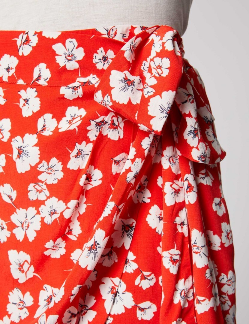 Morgan Skirt JUNA.F COQUELICOT