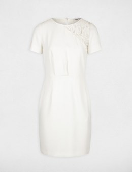 Morgan Dress REINE.N OFF WHITE