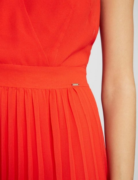 Morgan Dress REVE.N ORANGE