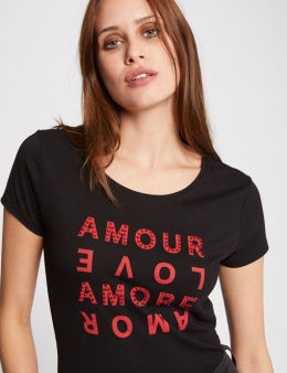 Morgan T-shirt DMOUR.N NOIR