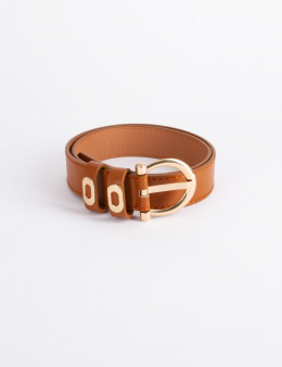 Morgan Belt 3CHOC.N CARAMEL