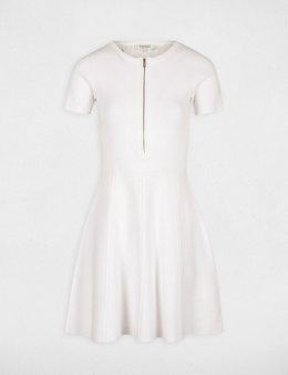 Morgan Dress RMONA.N OFF WHITE
