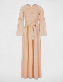 Morgan Dress ROBY.N ROSE PALE
