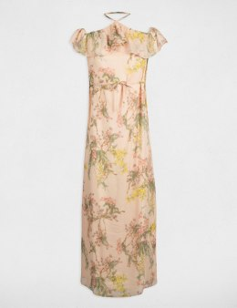 Morgan Dress ROZOA.F BLUSH