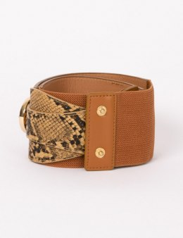 Morgan Belt 3REPTI.N CARAMEL