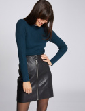 Morgan Skirt JZIP.P NOIR