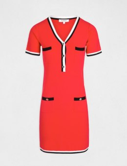 Morgan Dress RMCHOU.N ROUGE