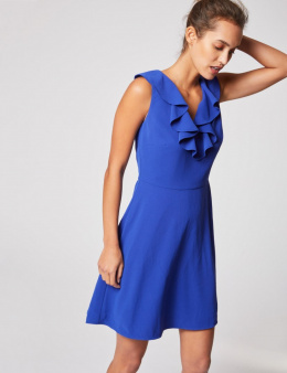 Morgan Dress RODINE.P ULTRA BLEU