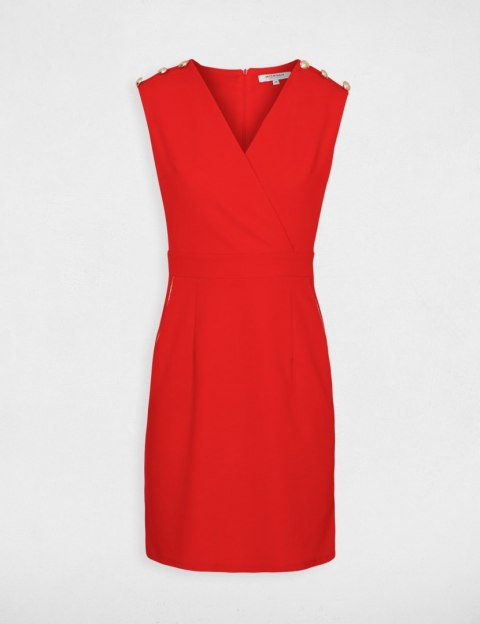 Morgan Dress ROPTI.P ROUGE
