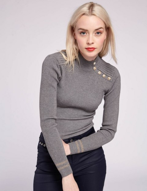 Morgan Sweater MAVAO.N GRIS ANTHRACIT