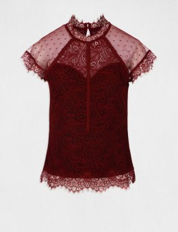 Morgan Blouse DORYSE.N BORDEAUX