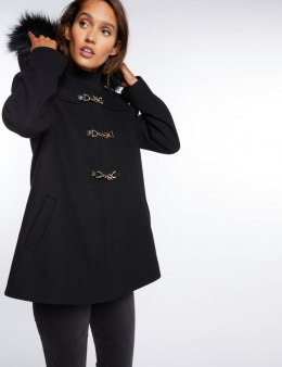 Morgan Coat GLOSIA.N NOIR