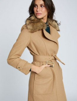 Morgan Coat GLOW.N CAMEL