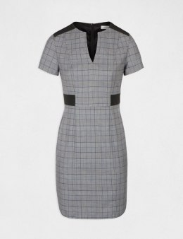 Morgan Dress RCHECK.F GRIS