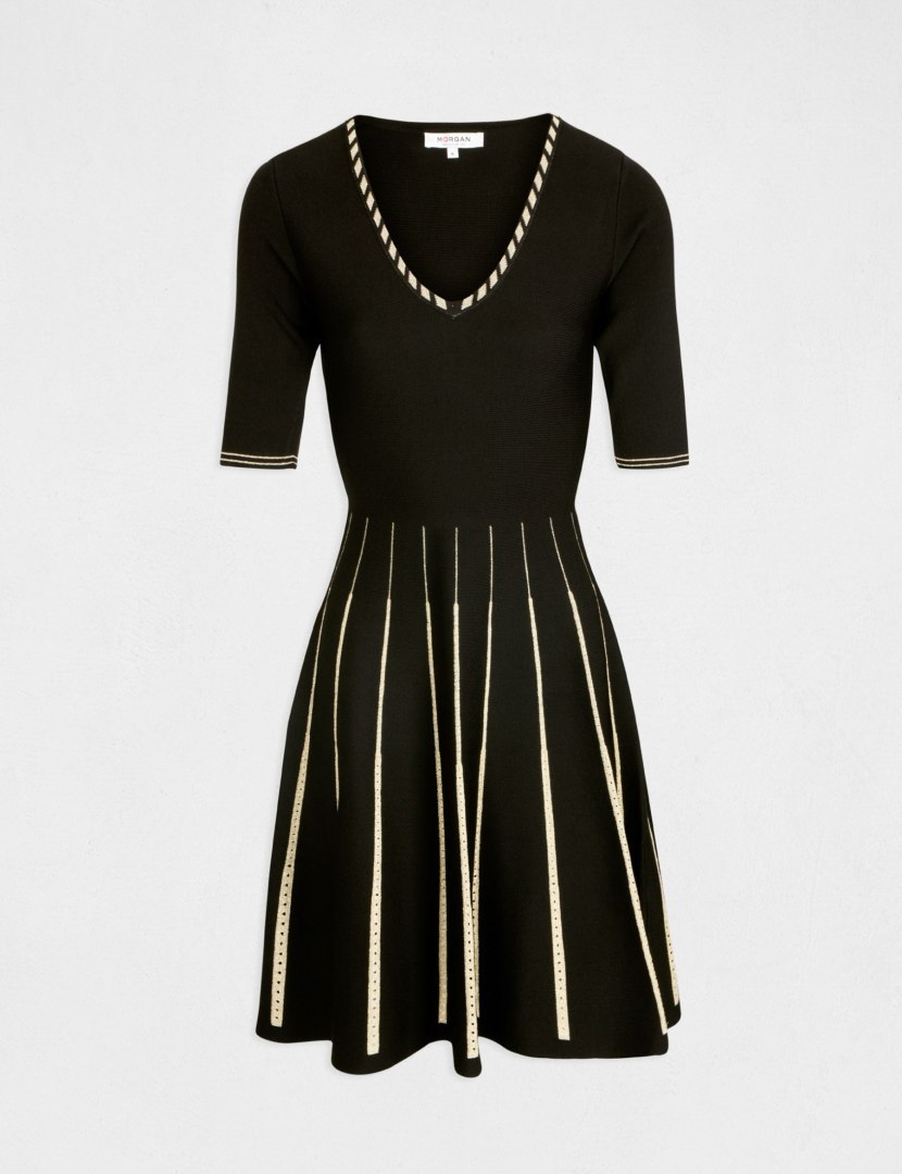 Morgan Dress RMGOA.P NOIR