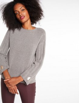 Morgan Sweater MHELE.P GRIS CHINE