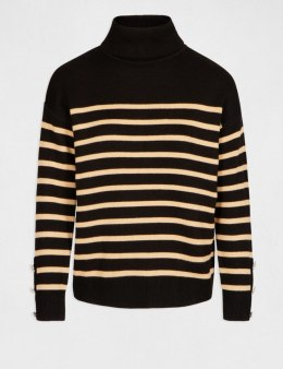 Morgan Sweater MLOVE.N NOIR/CAMEL