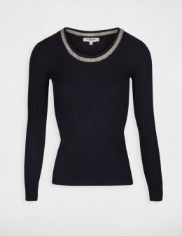 Morgan Sweater MTALI.N MARINE/ARGENTE