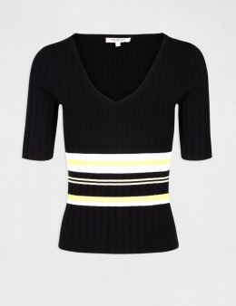 Morgan Sweater MPAPI.N NOIR/LIMONAD