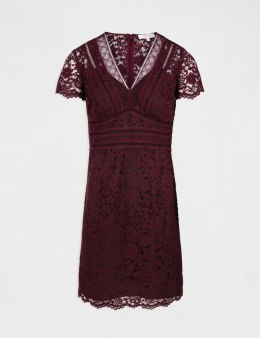 Morgan Dress RIALTO.N LIE DE VIN/NOIR