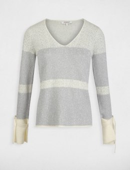 Morgan Sweater MKAIN.M ECRU/ARGENT