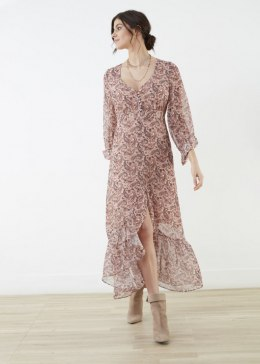 LAUREN VIDAL Dress RE3349 BLUSH