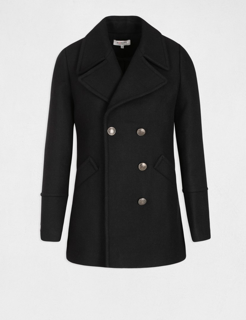 Morgan Coat GABIN.N NOIR