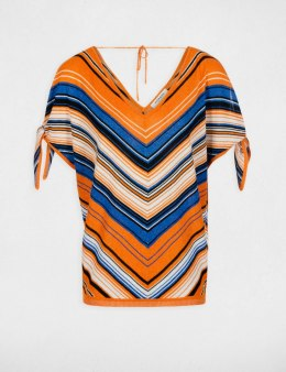 Morgan Sweater MAONA.N ORANGE/BLEU