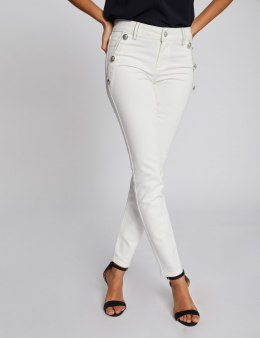 Morgan Pants PAPAYE.N BLANC