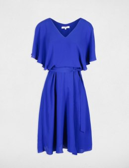 Morgan Dress RAZUR.P ULTRA BLEU