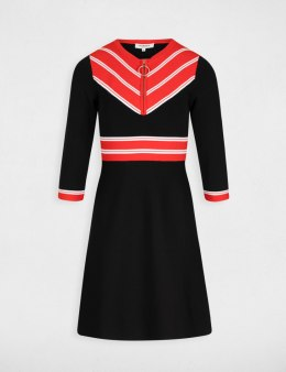 Morgan Dress RMABOU.N MARINE