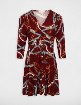 Morgan Dress ROYAN.P BORDEAUX