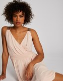Morgan Dress RVELIA.N NUDE