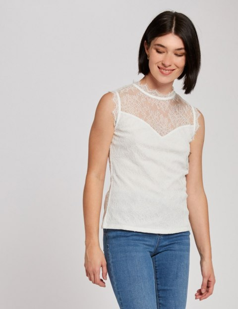 Morgan Blouse DIVA.N OFF WHITE