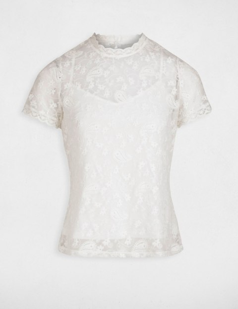 Morgan Blouse DLAC.N OFF WHITE