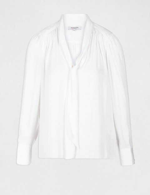 Morgan Blouse OLIAB OFF WHITE