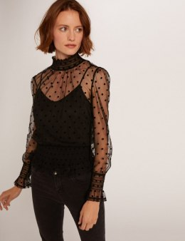 Morgan Blouse TIM NOIR