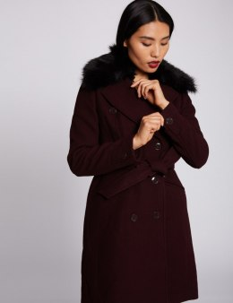 Morgan Coat GCHIC.N BORDEAUX